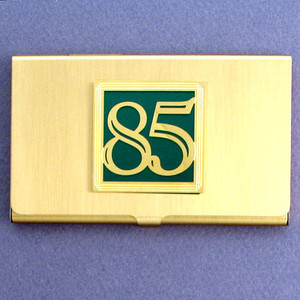 Number 85 Business Card Case