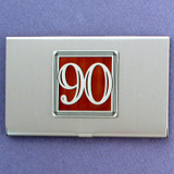 Number 90 Business Card Case