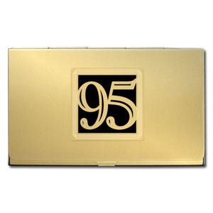Number 95 Business Card Case