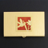 Hummingbird Business Card Case