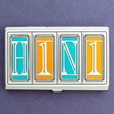 H1N1 Business Card Cases