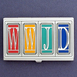 What Would Jesus Do? Christian Business Card Cases
