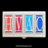 HVAC Contractor Business Card Cases
