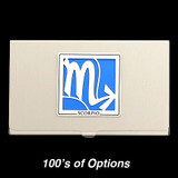 Scorpio Sign Business Card Cases