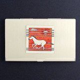 Wild Horses Business Card Holder Cases
