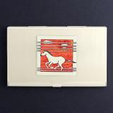 Wild Horses Business Card Holder Cases