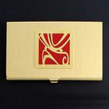 Decorative Wind Design Business Card Case