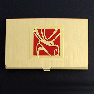 Decorative Wind Design Business Card Case