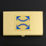 Baseball Business Card Case
