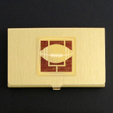Football Fan Business Card Case