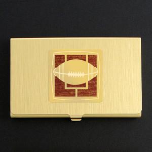 Football Fan Business Card Case