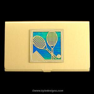 Tennis Business Card Holders