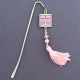 Attorney Hook Bookmark with Beaded Tassel