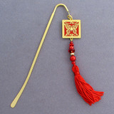 Gold Butterfly Bookmark with Tassel
