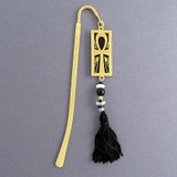 Ankh Beaded Metal Hook Bookmarks for Books