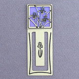 Iris Metal Bookmark
