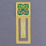 Personalized Celtic Knot Bookmark - Gold