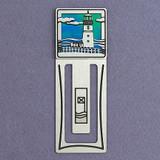 Lighthouse Metal Bookmarks