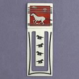 Mustang Horse Metal Bookmark