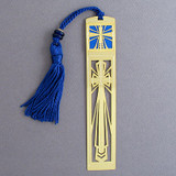 Christian Bookmark with Tassel