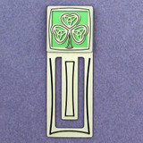 Shamrock Engraved Bookmark