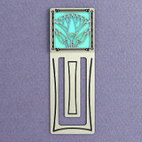 Egyptian Lotus Engraved Bookmark