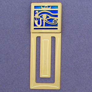 Egyptian Eye Engraved Bookmark