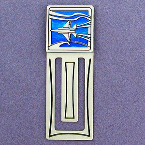 Jet Engraved Bookmark
