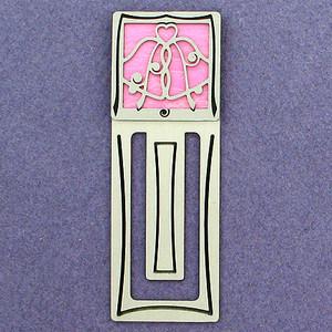 Wedding Bells Engraved Bookmarks