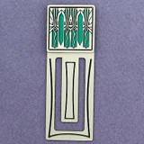 Retro Art Deco Engraved Bookmark