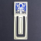 Ankh Engraved Bookmark