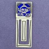 Teapot Engraved Bookmark