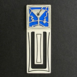 Martini Engraved Bookmark