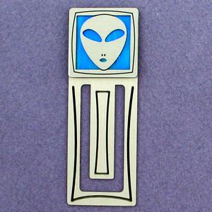 Alien Engraved Bookmark