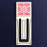 Snowflake Engraved Bookmark
