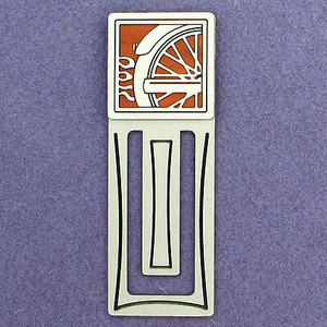 Motorcycle Engraved Bookmark