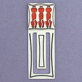 Triple Dogs Engraved Bookmarks