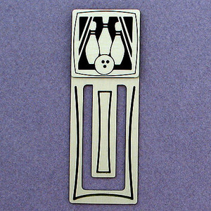 Bowler Engraved Bookmark