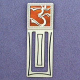 Aum Symbol Engraved Bookmark