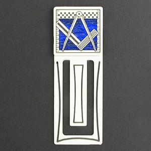 Masonic Engraved Bookmark