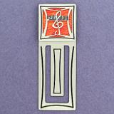 Music Engraved Bookmark