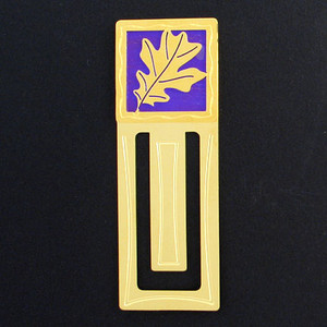 Oak Leaves Engraved Bookmarks