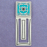 Police Shield Engraved Bookmark