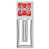 Fireman Engraved Bookmark