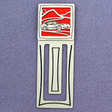 Sports Car Engraved Bookmark