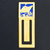 Cruise Ship Engraved Bookmark