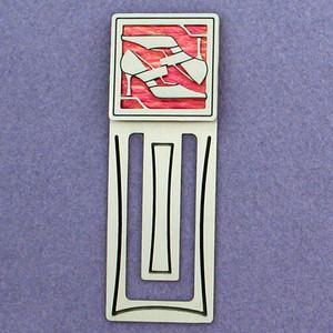 High Heeled Shoe Engraved Bookmark