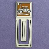 Antique Car Engraved Bookmark