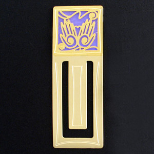 Two Hands Engraved Bookmark