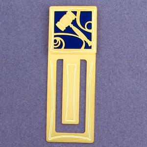 Gavel Engraved Bookmark